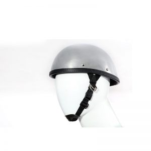 Classic Shiny Chrome Eagle Novelty Motorcycle Helmet
