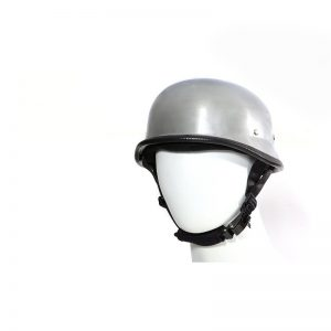 Chrome German Novelty Motorcycle Helmet