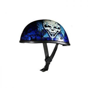 Blue Eagle Novelty Boneyard Motorcycle Helmet