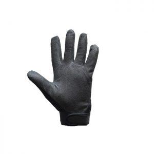Black Mechanic Skeleton Gloves