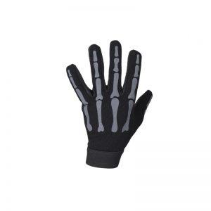 Grey Mechanic Skeleton Gloves