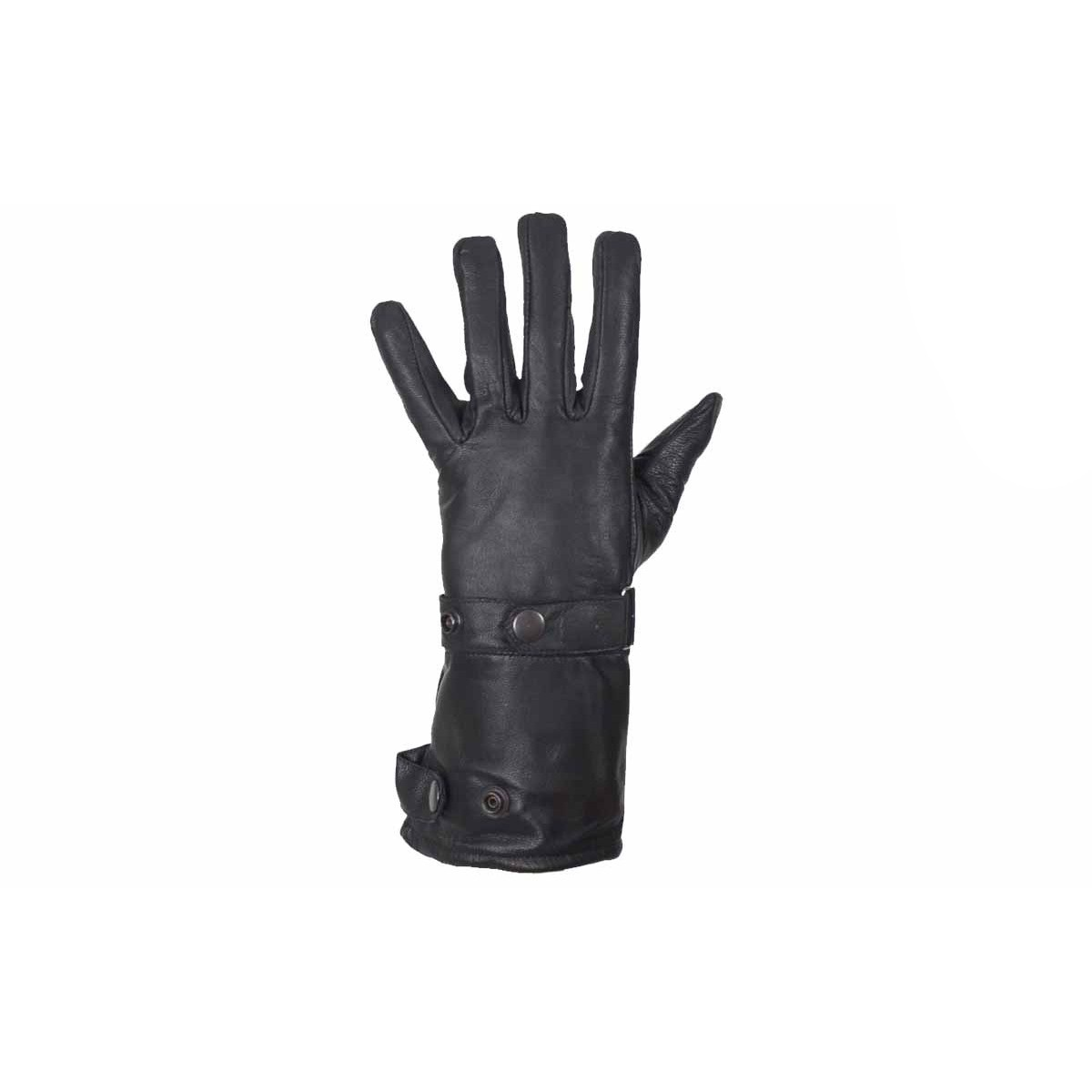 Long Leather Summer Motorcycle Gauntlet Glove