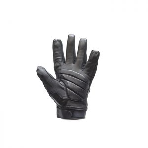 Leather Motorcycle Gloves With Mesh