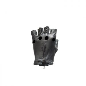 Leather Fingerless Riding Gloves