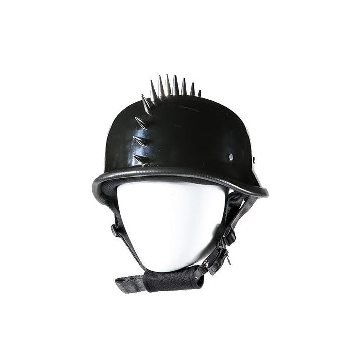 German Novelty Helmet With Spikes