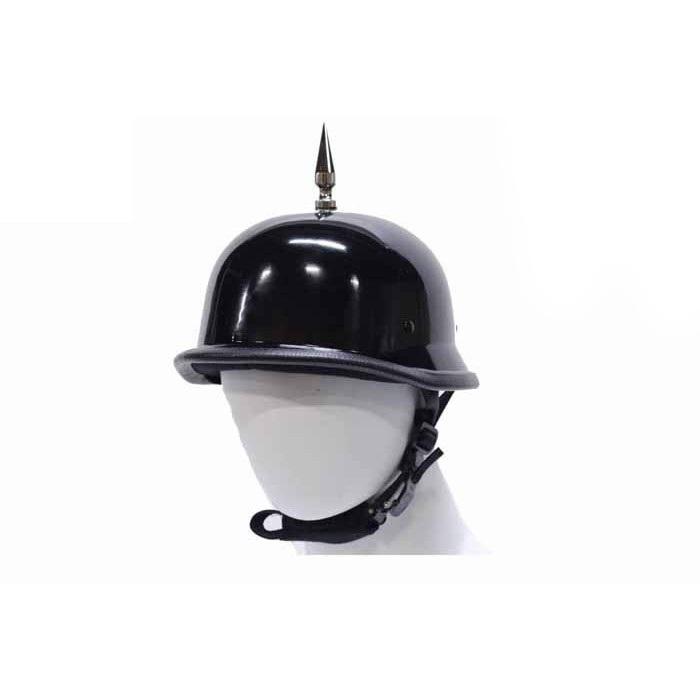 1 Spike German Shiny Novelty Helmet