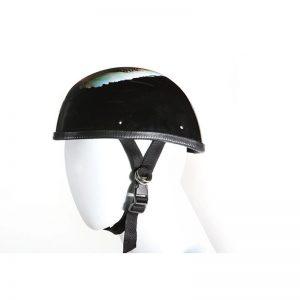 Eagle Shiny Novelty Motorcycle Helmet With U.S.A Flag & Eagle Design