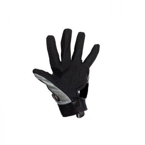 Men's Grey Mesh Racing Gloves