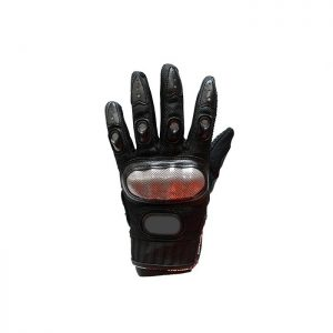 Men's Black Racing Gloves