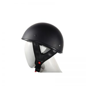 Flat Black DOT Approved Motorcycle Helmet