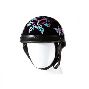 DOT Approved Helmet With Tribal Butterfly