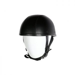 Leather Cover Eagle Novelty Motorcycle Helmet